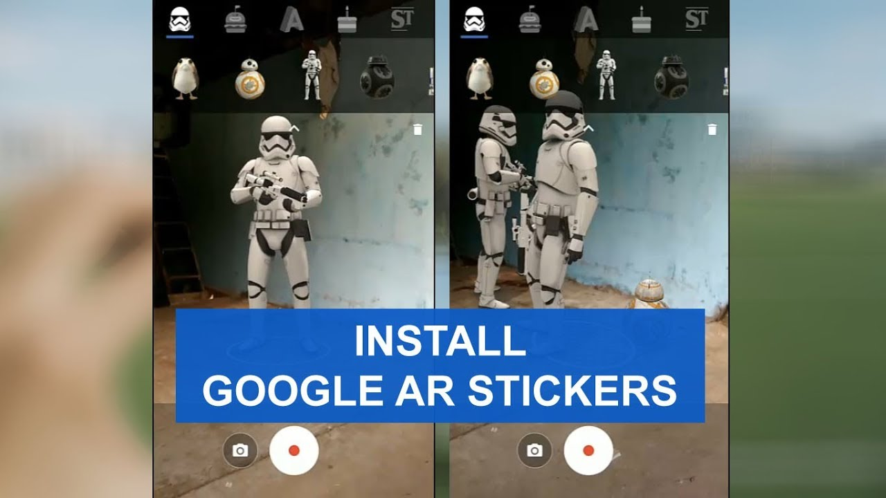 How to Install Google's AR Stickers on Xiaomi Devices (Tested: MIDO)