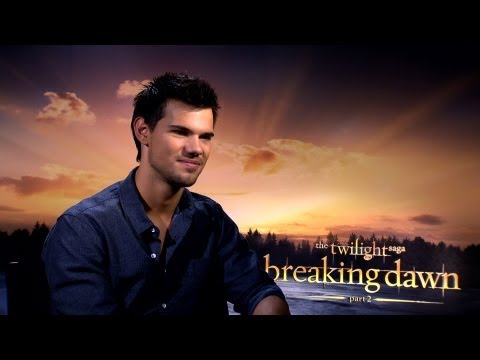 'Breaking Dawn 2' Taylor Lautner Interview
