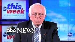 Biden is 'part of the old political establishment,': Sanders