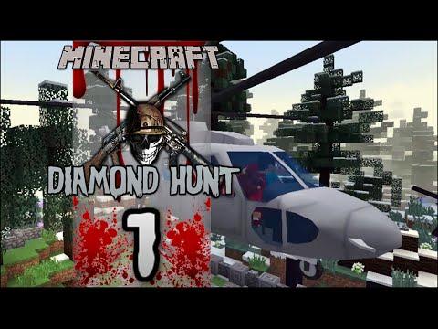 "Minecraft: Diamond Hunt - ""На Война Като на Война"" (Minecraft Mods)"