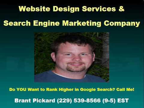 Small Business Website Design, Valdosta GA, Brant Pickard (229) 539-8566