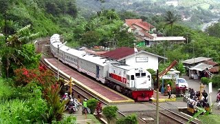 """Sirine sangat eror PJl Cilame""""Kereta Serayu berjln lgsg"""