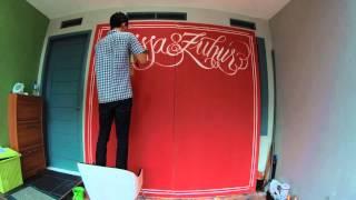 chalk lettering tutorial