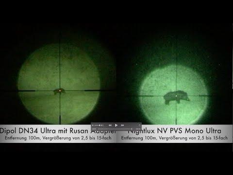 Nachtsichtvorsatzgeräte pulsar fn dipol vs nv monokular von