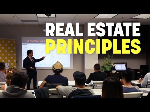 California Real Estate Principles: Session 1