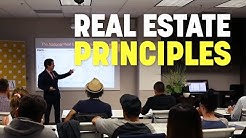 California Real Estate Principles: Training Session 1 of 15