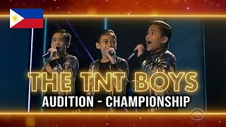 TNT Boys 'The Worlds Best' All Performances w/ Scores