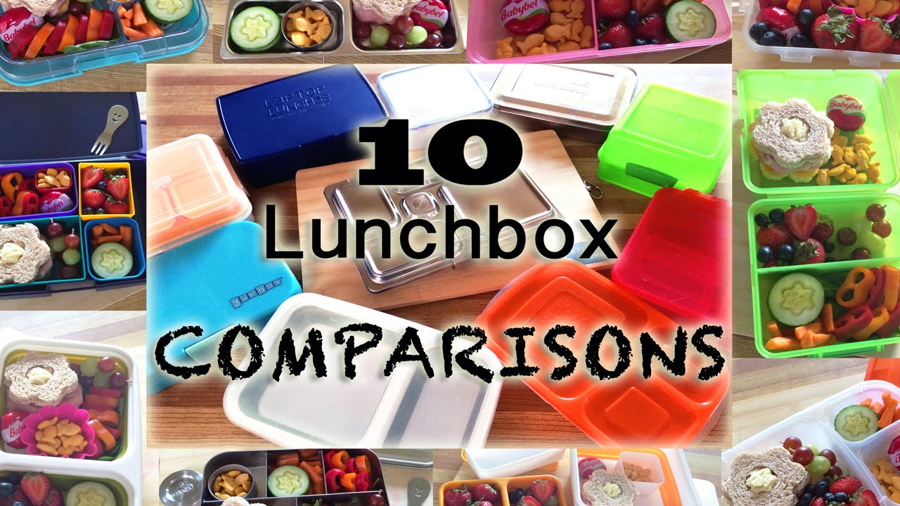 Planetbox, Lunchbots, Yumbox, Bentology(laptop lunches ...