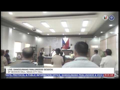 LIVE: Sangguniang Panlungsod ng Naga Session - October 25, 2016