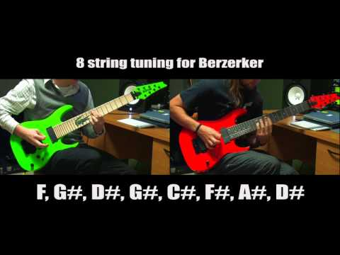 After The Burial Berzerker Intro Play Along