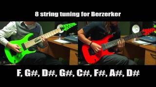 """After The Burial """"Berzerker"""" Intro Play Along video"""