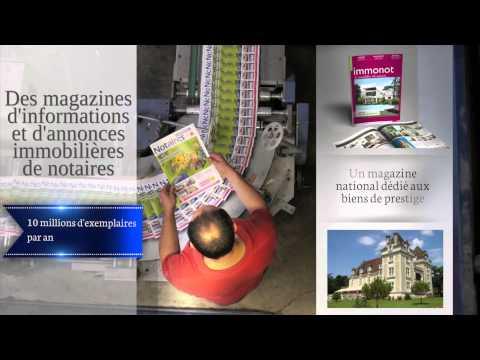 Vidéo de présentation de la société Notariat Services