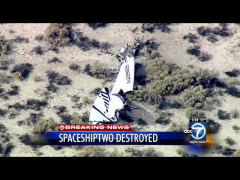 Witness: Space tourism rocket explodes in desert