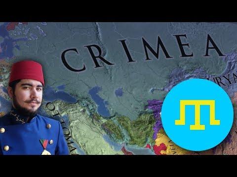 Europa Universalis 4 - Crimean Khanate Timelapse 1444-1821