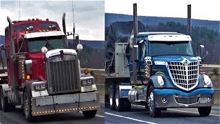 Truckers on I-80! Grovers, T2000s & More!