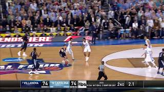 Villanova vs. North Carolina: Kris Jenkins shot wins national title