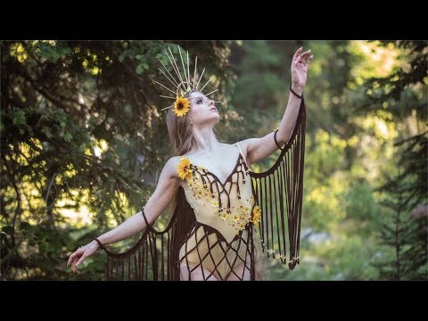 Making a Sunflower Fairy Costume