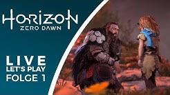 EPISCHES Abenteuer - Horizon Zero Dawn  - Live Let's Play Deutsch
