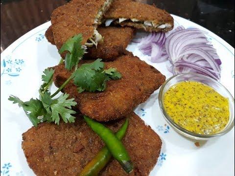 Kolkata Fish Fry Recipe | Bengali Style Fish Fry Recipe | Bhetki Fish Fry | Kolkata Street Food