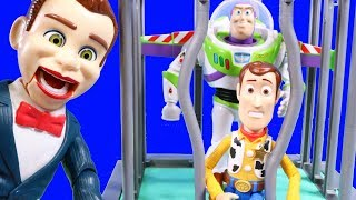 Toy Story 4 Benson Puts Woody And Buzz Lightyear In Jail