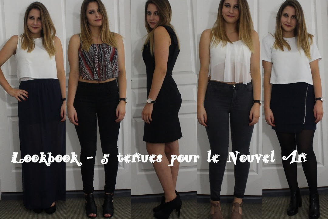 lookbook 5 tenues pour le nouvel an youtube