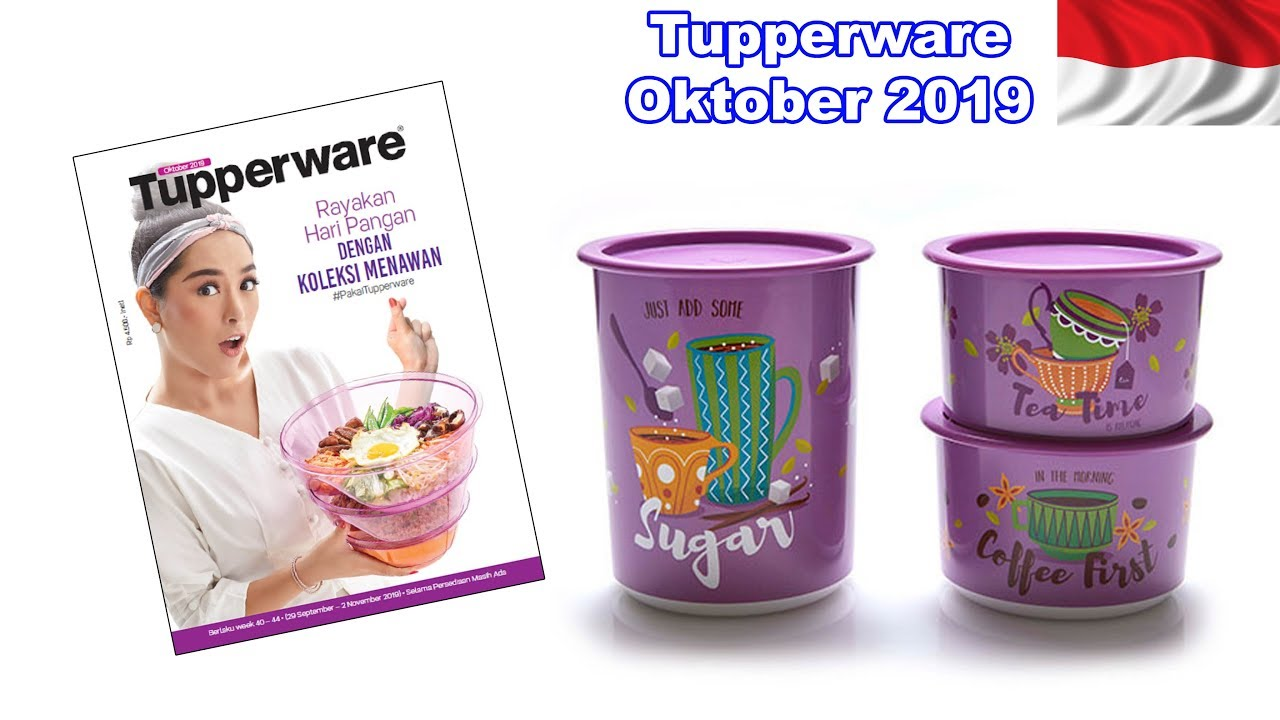 Promo Tupperware Bulan September 2019