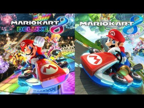 Mario Kart 8 Deluxe 200cc, Then Mario Kart 8 Wii U 200cc!