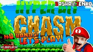 Hyper Bit Chasm Gameplay (Chin & Mouse Only)