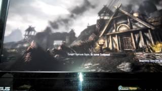 The Skyrim 5 прохождение миссии штурм Вайтрана.