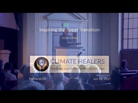 Sailesh Rao - The 2026 Great Transition Tour - Portland, Oregon