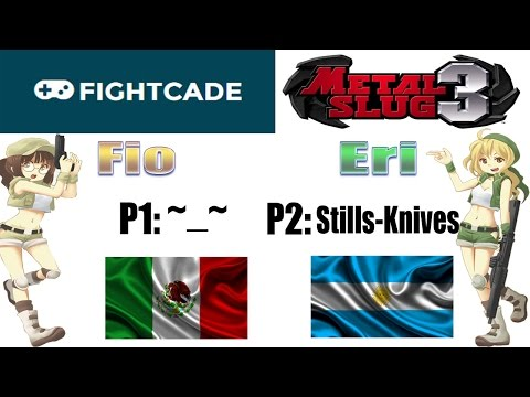 Metal Slug 3 FightCade Online Gameplay: P1: ~_~ (Mexico) P2: Stills-Knives (Argentina) ^^No Deaths^^