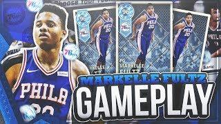 INCREDIBLE DIAMOND MARKELLE FULTZ 70 POINT GAMEPLAY! OMG HE MADE A FULL COURT SHOT! NBA 2K18 MYTEAM