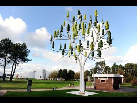 Green energy @ Electricity Tree by Mr. Michaud - Lariviere