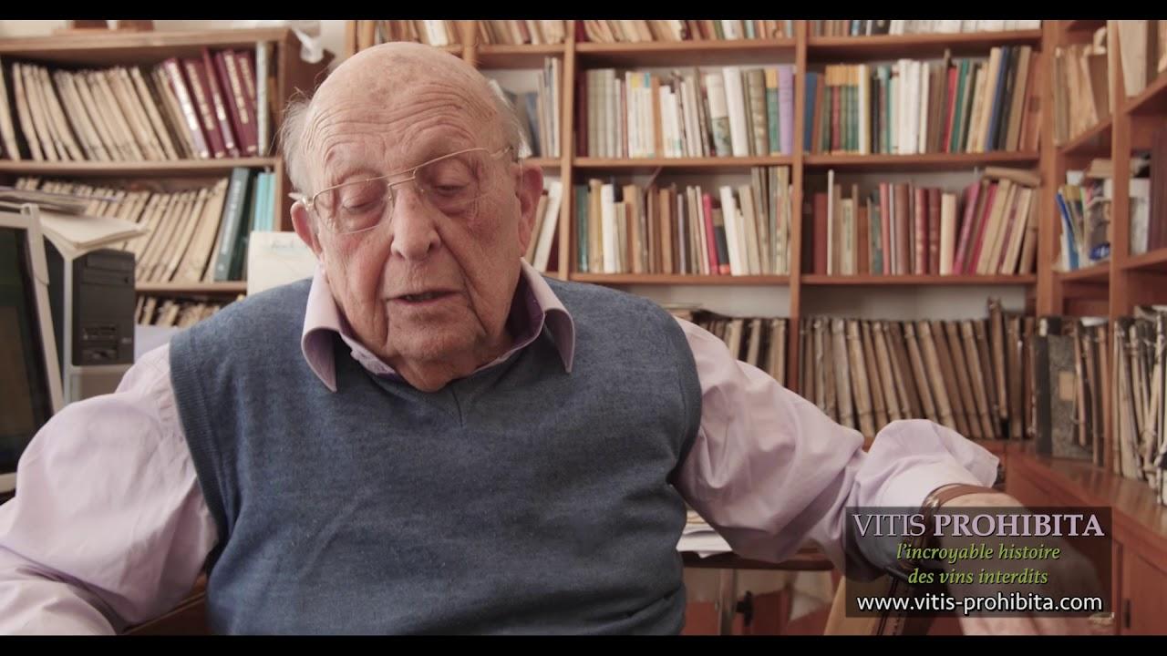 Pierre Galet raconte - VITIS PROHIBITA documentaire