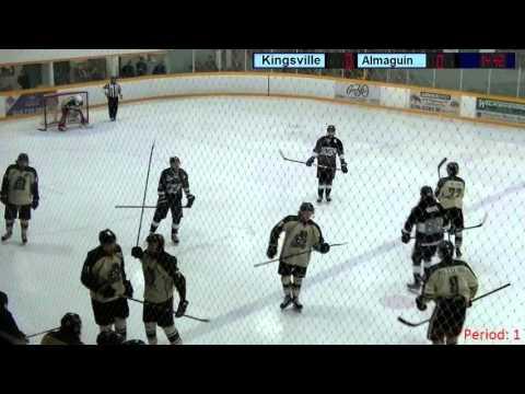 Kingsville Kings vs  Almaguin Spartans Mar 18 16