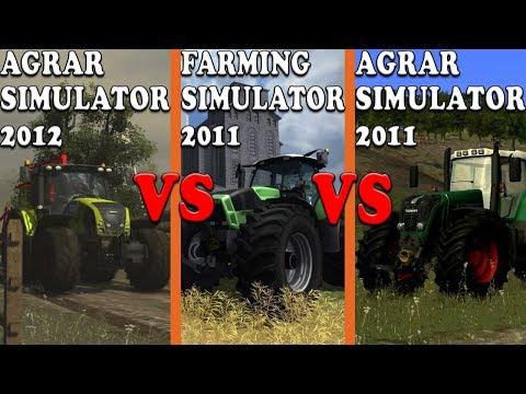 POJEDYNEK - Agrar Simulator 2012 VS Farming Simulator 2011 VS Agrar Simulator 2011!!!