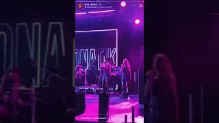 Леся Никитюк оторвалась на концерте Monatika в Египте