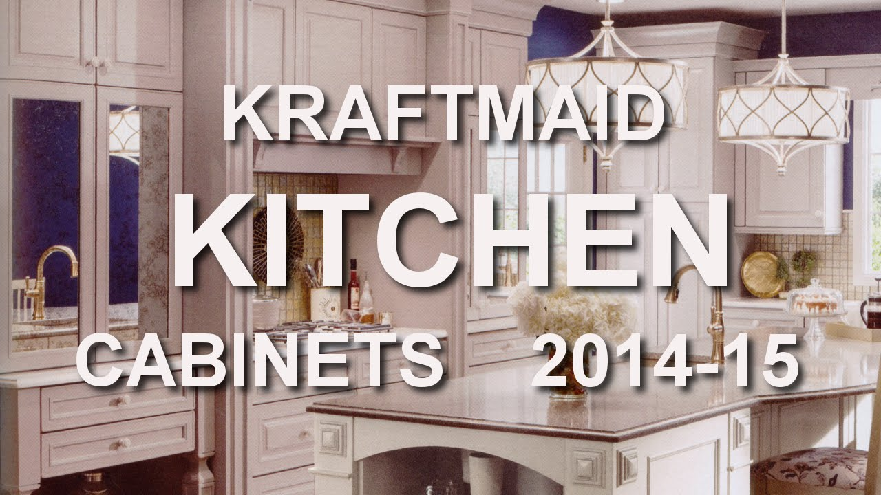 Kitchen Cabinets Catalog kraftmaid kitchen cabinet catalog 2014-15 at home depot - youtube