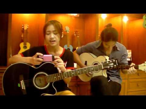 Sky Music บางแค (สอนกีต้าร์ อูคู เบส อื่นๆ 400บาท/เดือน ) - เจล ( แอบชอบ )