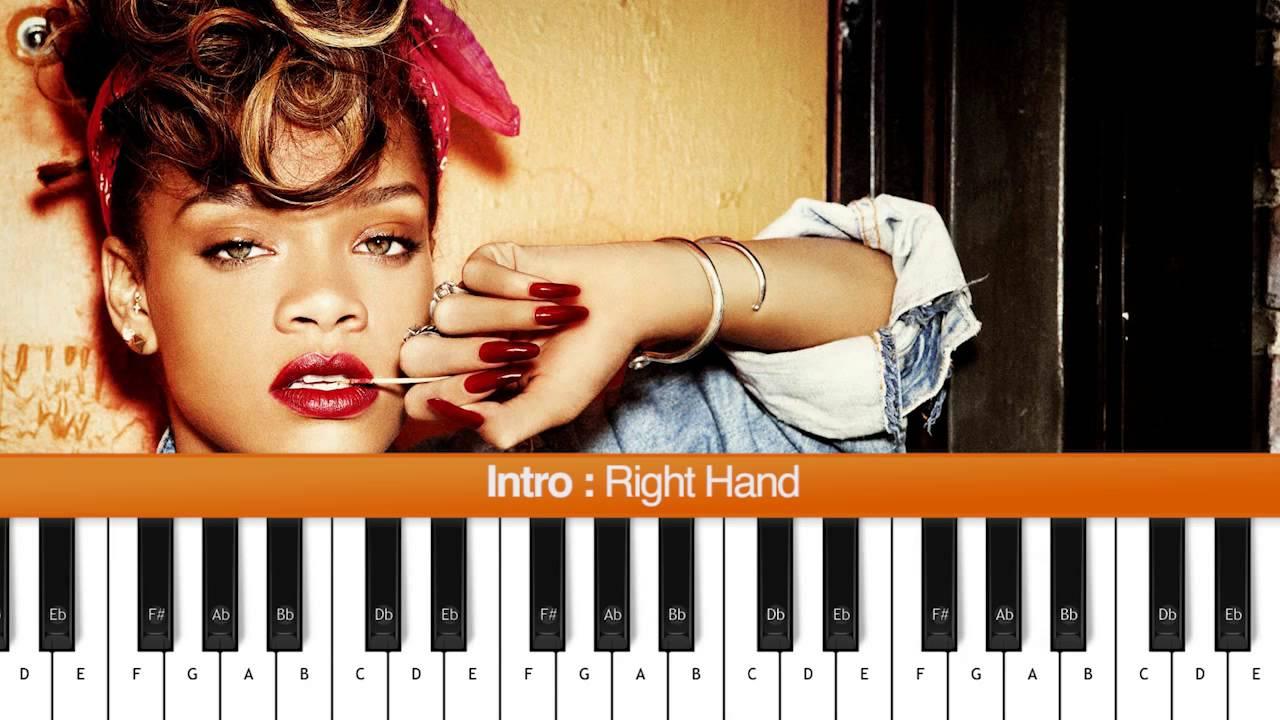 How To Play We Found Love Rihanna Ft Calvin Harris Easy