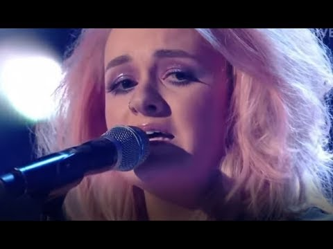 """Grace Davies HEARTFELT Raw Version of """"I Can't Make You Love Me"""" 