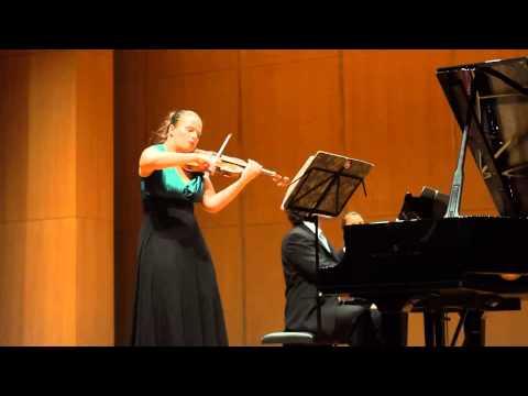 Beethoven Sonata in G op.96 (3rd & 4th mov.) - Julia Schröder (violin) LIVE