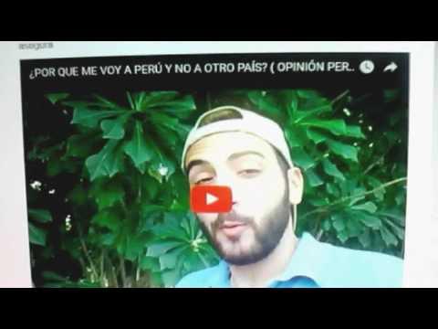 Alexo en Perú - ¡SOY FAMOSO! Me hicieron un articulo en peru.com