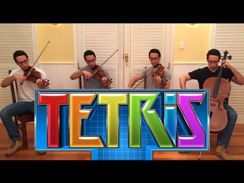 Tetris theme music - String Quaret