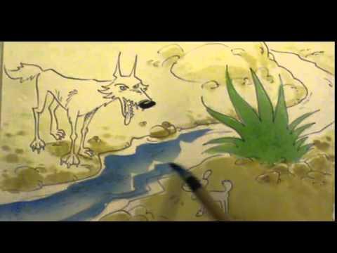 Concerts pour minots le loup et l 39 agneau youtube - Dessin loup et agneau ...