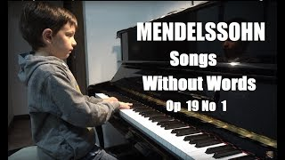 Mendelssohn | Songs without Words Op  19 No  1