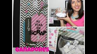 """GANADORES CONCURSO """"Mi Vida en Scrap 3"""" FELICIDADES !!!!!!"""