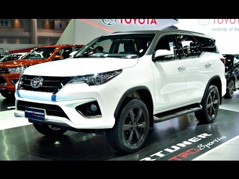 All New Toyota Fortuner Trd Sportvio 2017 Interior And