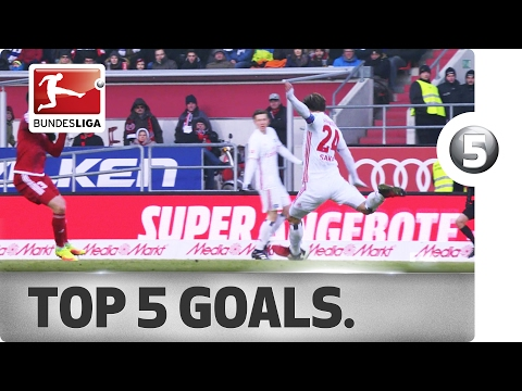 Top 5 Goals - Robben, Alaba, Sakai and More with Incredible Strikes