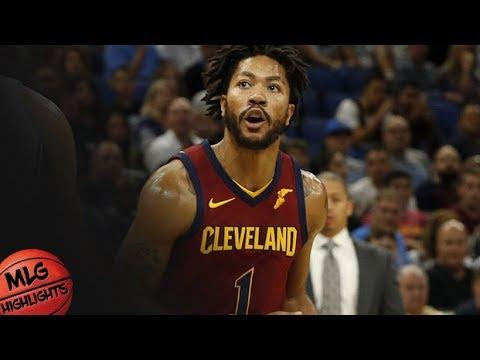 Derrick Rose (12 pts) Full Highlights vs Bucks / Week 1 / Cavaliers vs Bucks / 2017 NBA Season